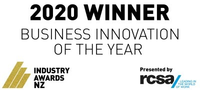 Business Innovation of the Year Winner NZ